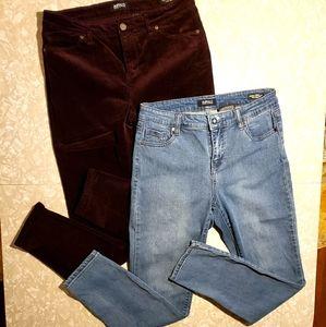 BUFFALO David Bitton Skinny Jeans & Cords - 10/30
